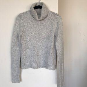 Brandy Melville Sweaters - Heather grey Turtle neck sweater